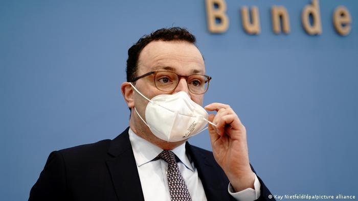 Ministro alemán de Salud, Jens Spahn