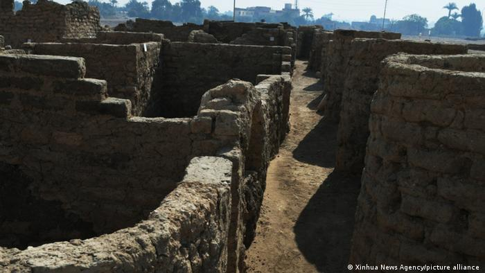 3,000-year-old 'lost golden city' unearthed in Egypt