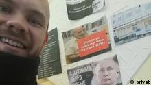 Russland Der Lehrer Nikita Tuschkanow aus Mikun