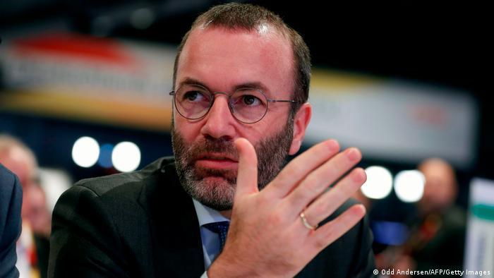 Глава фракции Европейской народной партии в Европарламенте Манфред Вебер