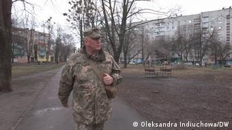 Михаил Соколов из харьковского пункта теробороны