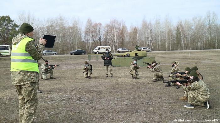 Навчання територіальної оборони в Харкові (архівне фото)