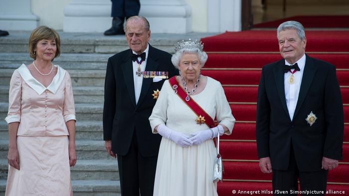 Archiv Königin Elizabeth II und Prinz Philip 2015 in Deutschland