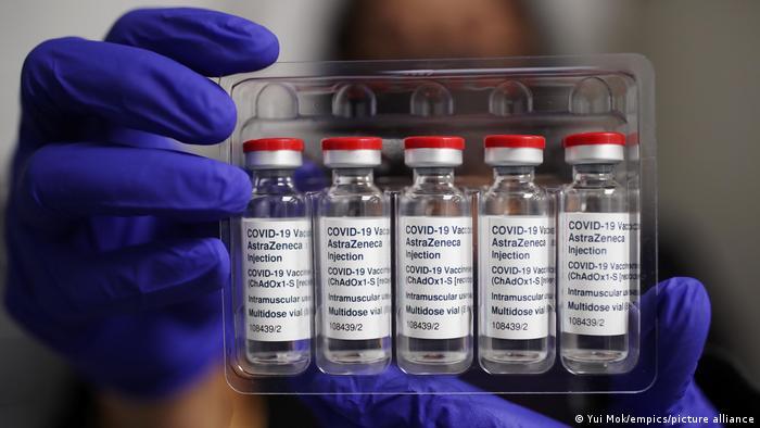 England | Coronavirus |Impstoff von AstraZeneca