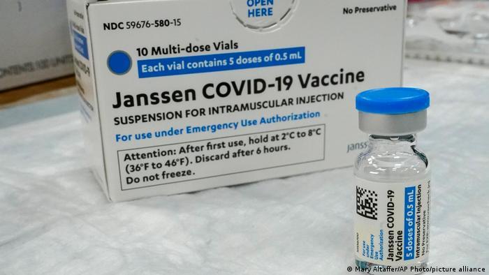 USA | Coronavirus |Impstoff von Johnson & Johnson