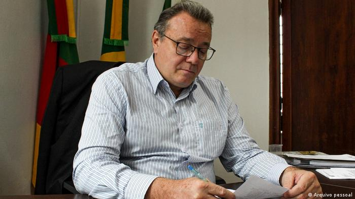 Alcione Grazziotin, prefeito de Nova Prata (RS)