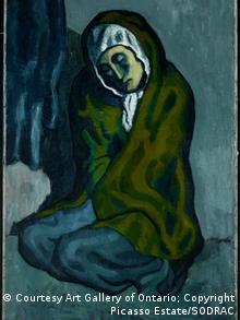 La Misereuse Accroupie de Pablo Picasso.