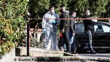 Griechenland Athen | Mord an Giorgos Karaivaz, Journalist |Tatort