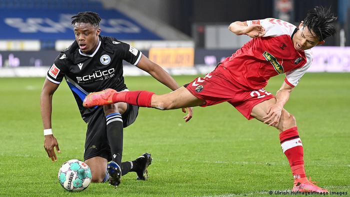 1.Bundesliga, Saison 2020-2021, DSC Arminia Bielefeld - SC Freiburg Bi