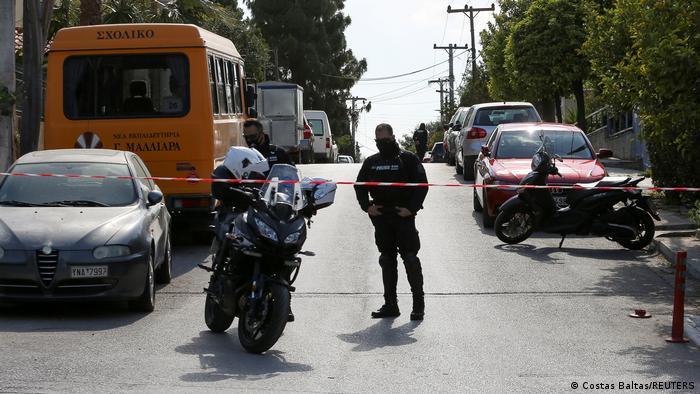 Griechenland Griechischer Kriminaljournalist Giorgos Karaivaz wurde ermordet