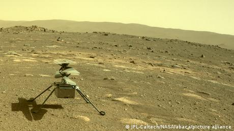 Earth's first-ever helicopter on Mars, Ingenuity