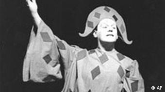 Gustaf Gründgens als Mephisto im Faust II (Foto: AP-Photo/Kreu/-09/26/1959-)