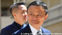 Jack Ma, founder of the Alibaba site, has been missing since the end of October. The businessman had been summoned by the authorities after a speech critical of the Beijing regime -- File -- Jack Ma, co-founder and executive chair of the Alibaba Group arrive ahead of a Tech For Good meetup at Hotel Marigny in Paris on May 15, 2019, held to discuss good conduct for technology giants. French President and New Zealand's premier will host other world leaders and leading tech chiefs to launch an ambitious new initiative known as the Christchurch call aimed at curbing extremism online. The political meeting will run in parallel to an initiative launched by the French President called Tech for Good which will bring together 80 tech chiefs in Paris to find a way for new technologies to work for the common good. Photo by Christian Liewig/ABACAPRESS.COM
