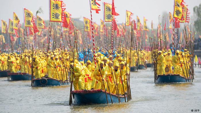 BdTD China Taizhou | Qintong-Bootsfestival