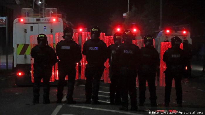 Nordirland Belfast Unruhen