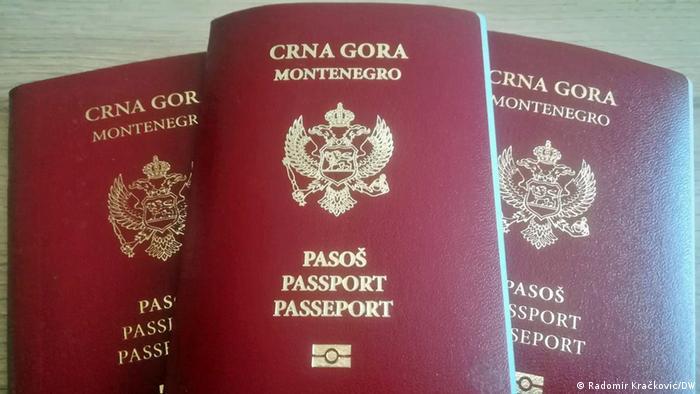 Montenegro Proteste wegen Staatsbürgerschaft