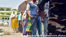 Indien Wahlen l Stimmabgabe in Westbengalen, Kolkata