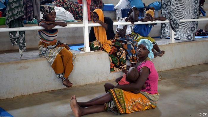 Mosambik Flüchtlinge aus Palma in Pemba