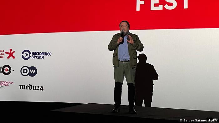Президент Артдокфеста Виталий Манский
