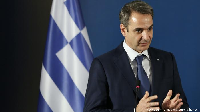 Griechenland l Premierminister Kyriakos Mitsotakis
