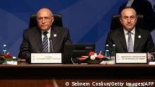 Türkei Sameh Shoukr und Mevlut Cavusoglu