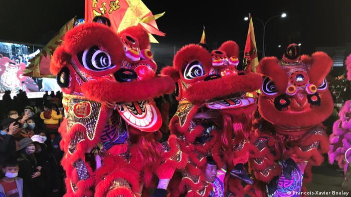Taiwan | Dajia Jenn Lann Tempel | Prozession Göttin Mazu