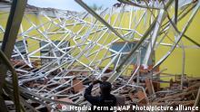 Indonesien | Erdbeben in Malang