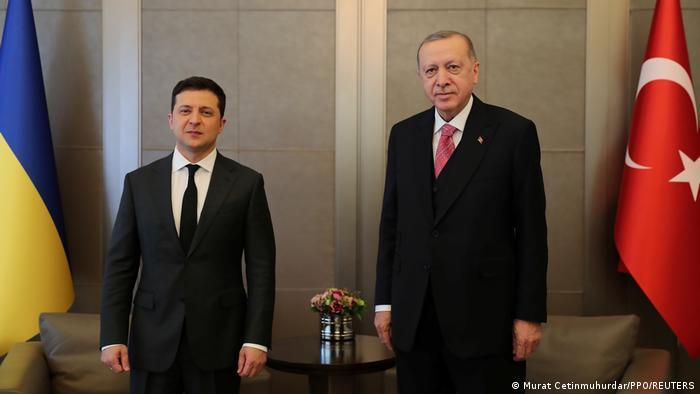 Türkei Selenskyj und Erdogan in Istanbul