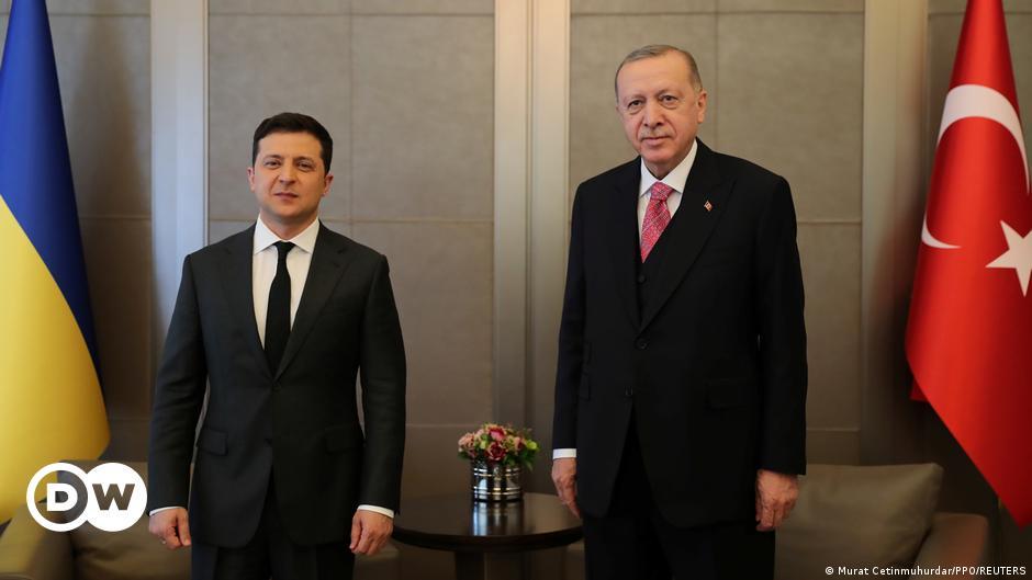 Turkey's Erdogan voices support for Ukraine amid crisis