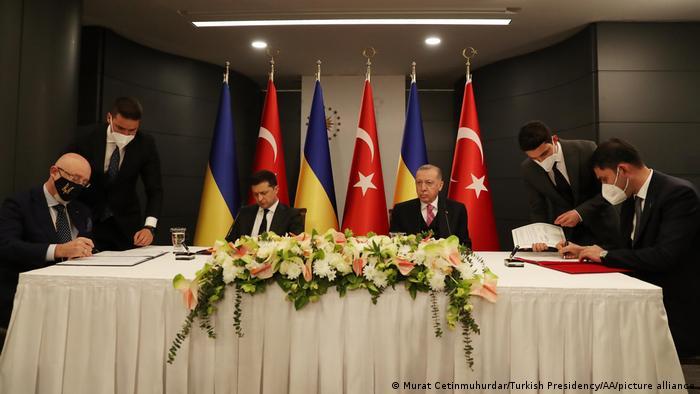 Türkei  Treffen Recep Tayyip Erdogan und Wolodymyr Selenskyj in Istanbul