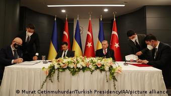Türkei |Treffen Recep Tayyip Erdogan und Wolodymyr Selenskyj in Istanbul