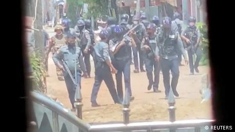 Protests in Bago