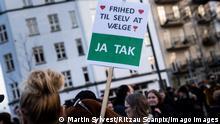 Dänemark Kopenhagen | Protest gegen Corona-Pässe und Massentests