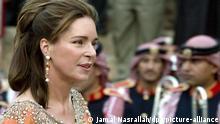 Jordanien l Königin Noor Al Hussein in Jerash