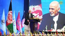 Afghanistan l Nationaler Tag der Sicherheitskräfte in Kabul, Präsident Ghani