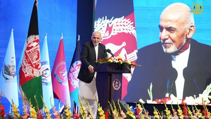 Rais wa Afghanistan Ashraf Ghani