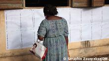 Benin | Präsidentenwahlen: Wähler in einem Wahlbüro in Cotonou
