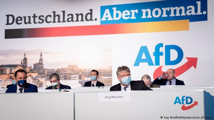 Федеральный съезд партии Альтернатива для Германии в Дрездене, 10-11 апреля 2021 года