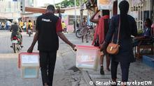 Benin | Präsidentschaftswahl 2021 | Transport der Wahlurnen