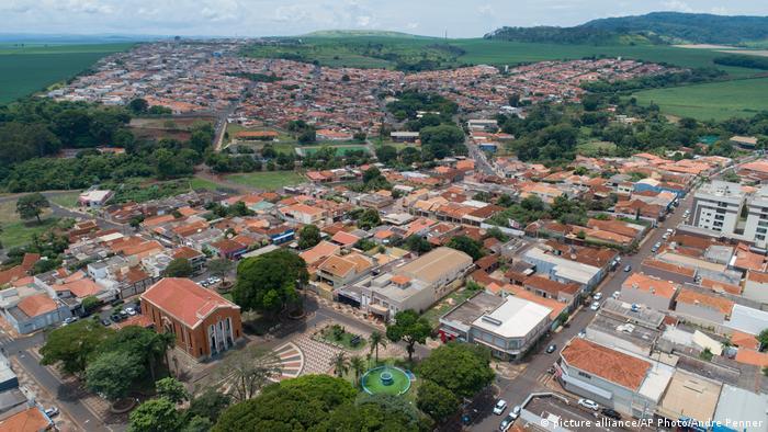 Foto aérea de Serrana
