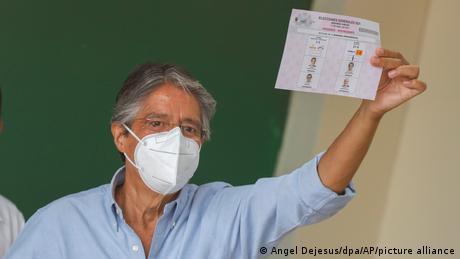 Ecuador's president-elect, Guillermo Lass