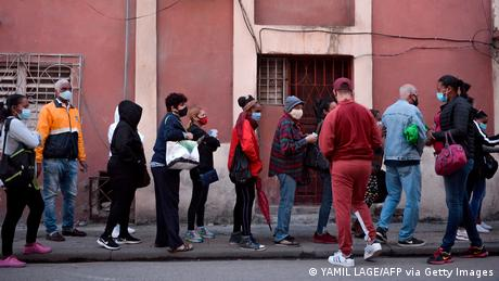 Kuba Havana Coronavirus Lockdown