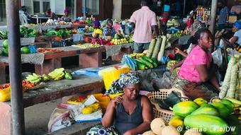 Angola Markt in Cabinda