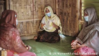 Rohingya Frauen Kutupalong