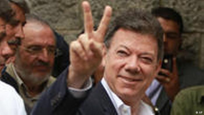 Juan Manuel Santos Wahlen Kolumbien