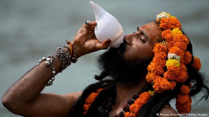 Indien Kumbh Mela in Haridwar