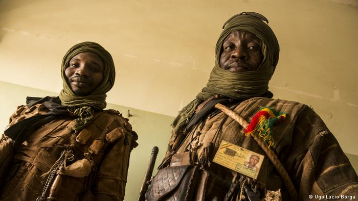 Two Dan Na Ambassagou hunters