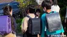 Japan Tokyo Schulanfang