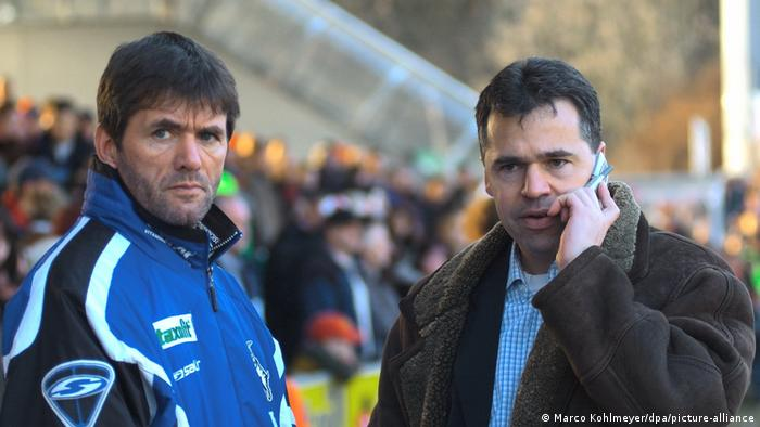 Fußball: Friedhelm Funkel und Andreas Rettig
