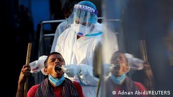 Тестирование на коронавирус в Индии